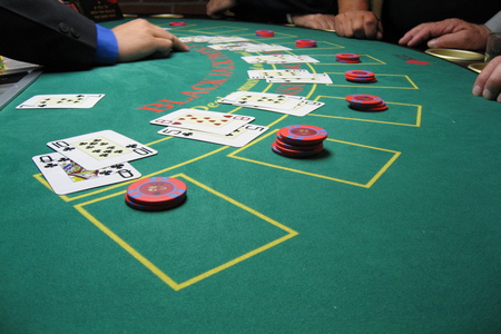 Blackjack gaming